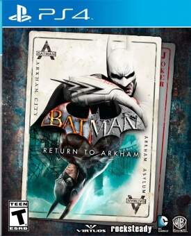 batman return to arkham (ps4) фото