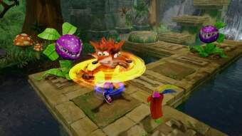crash bandicoot n'sane trilogy (ps4) фото