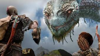 god of war (ps4) фото