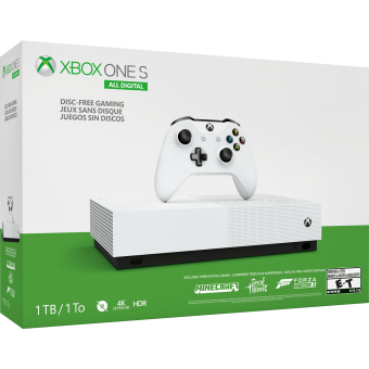 microsoft xbox one s 1tb all-digital edition + watch dogs legion фото