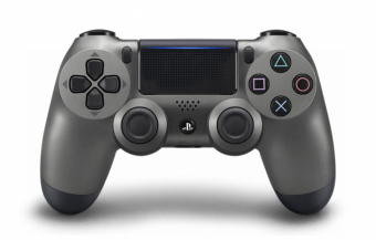 sony dualshock 4 (ps4) steel black (v.2) фото