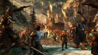 middle-earth: shadow of war (ps4) фото