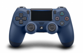 sony dualshock 4 (ps4) midnight blue (v.2) фото