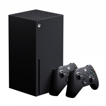xbox series x + wireless controller (carbon black) фото