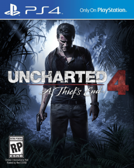 uncharted 4: a thief's end (ps4) английская версия фото