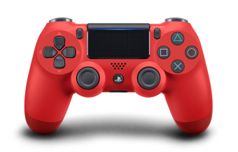 sony dualshock 4 (ps4) magma red (v.2) фото