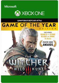 the witcher 3: game of the year edition (xbox one) фото