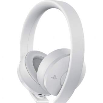 sony playstation gold wireless headset (white) фото