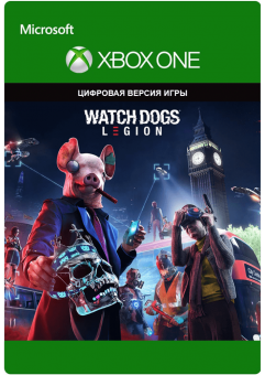 watch dogs: legion (xbox one) фото