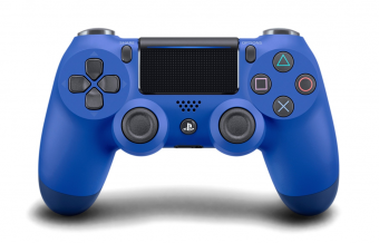 sony dualshock 4 (ps4) wave blue (v.2) фото