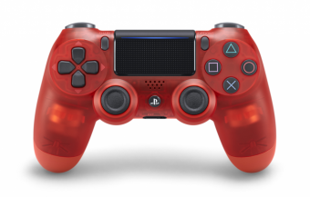 sony dualshock 4 (ps4) crystal red (v.2) фото