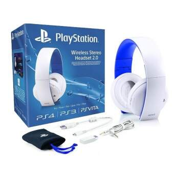 sony playstation wireless stereo headset 2.0 white фото
