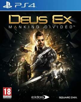 deus ex: mankind divided (ps4) фото