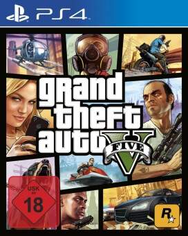 gta 5: grand theft auto v (ps4) фото